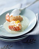Langoustine with spicy sauce