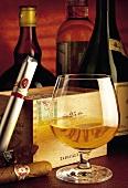 Cognac mit Zigarren