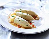 Fish dumplings