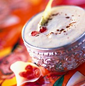 Mango-flavored Indian Lassi