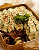 courgette moussaka gratin