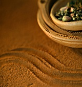 Moroccan dishes and spices