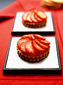Individual strawberry tarts
