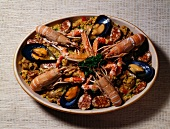 Ttorro (mussels,langoustines and octopus)
