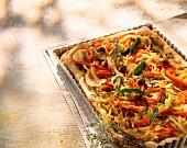 Pissaladière French pizza