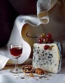 Roquefort and port