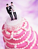 wedding cake for homosexual couple
