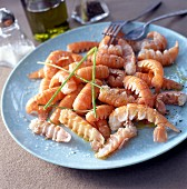 Norway lobster tails
