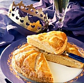 Galette des Rois almond pastry cake