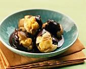 Chocolate Profiterolles Dessert Recipe Cabbage Ice Cream