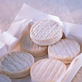 Rocamadour cheeses