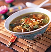 Chinese prawn soup