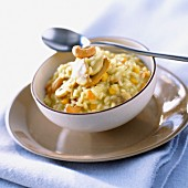 Cashew nut risotto