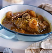 Osso-bucco with honey and spices