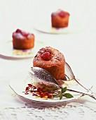 Raspberry Madeleines