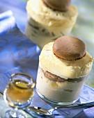 Cognac iced soufflé