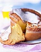 Biscuit de savoie (Savoyer Biskuitkuchen) mit Zitronengeschmack