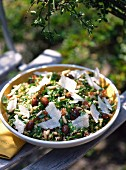 Tabouleh with pine nuts