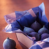 Punnet of figs