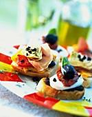 Italian toast appetizers