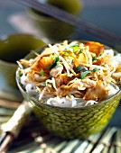Thai salad with pears