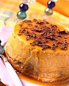 flans de marrons au coulis d'abricot