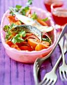 Solomougou-style salad