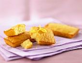 Almond sponge fingers