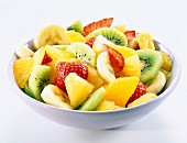 Dish of fruit salad