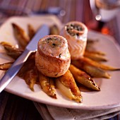 Rolled sole with chicory