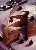 Chocolate cake dessert