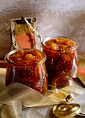 Fig and grape chutney