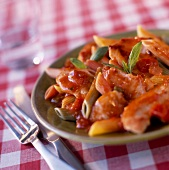 Sicilian-style turkey escalope