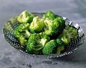 Broccoli in dish