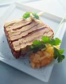 terrine with chutney