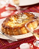 Galette des Rois almond pastry tart
