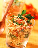lebanese tomato salad (topic: tomatoes from the south)