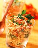 Tomatensalat auf libanesische Art