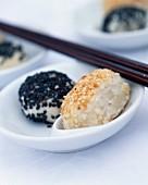 Ying-yang breads