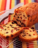 Fruit cake (topic : fruits for tea time)