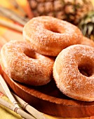 Pineapple donuts (topic : fruits for tea time)