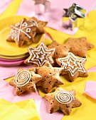 Star-shaped cookies