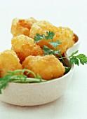 Camembert potato croquettes