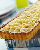 Banana and lime tart