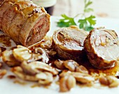Pauillac lamb with cep mushrooms and chestnuts