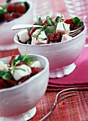 Feta and beetroot salad with mint