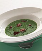 Peasoup with ham
