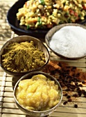 Spices and Indian rice
