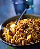 Khichhari lentil rice