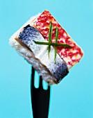 Rectangular sushi
